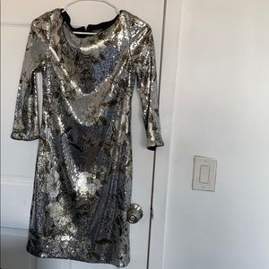 Vince Camuto size 4 sparkling dress only wore once
